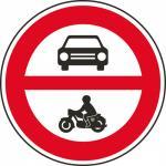 Zákaz vjezdu motorových vozidel